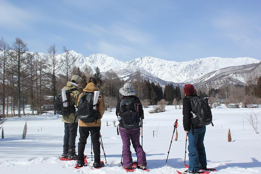 「Snow Peak GO」スノーシュープランコース変更のお知らせ